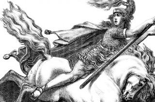 Der Archetyp Held - Es gibt auch Heldinnen, z.B. Brunnehilde - 1874