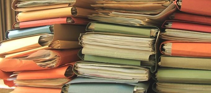 Aktenmäßigkeit in der Bürokratie (Bildquelle: Fotolia_66590717.jpg)