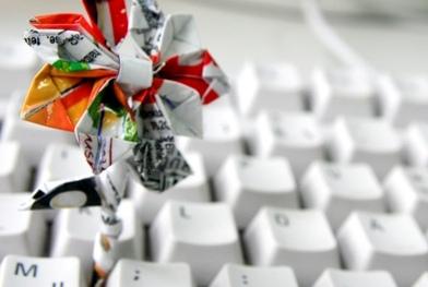 Tastatur mit Windmühle, photocase
